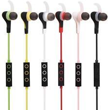 Inalámbrico Bluetooth Auriculares Auriculares Auriculares deportivos estéreo para iPhone Samsung LG