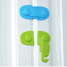 Kids Baby Lock Safe Latch Wardrobe Fridge Cabinet Drawer Door Cupboard Box Al