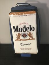 Modelo Beer New Rolling Cooler Bag Blue Rare Promotion Never Used