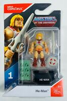 HE-MAN Mega Construx Heroes Series 1 Masters Of The Universe Figure