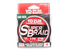 Yo Zuri Duel P.E Line Super Braid 150YDS 10Lbs (0.15mm) Green R1256-DG