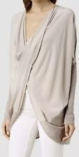 New With Tags Allsaints Itat Silk Shrug.cardigan.sz Medium(uk 12-14)
