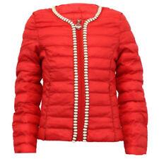 Abrigos y chaquetas de niña de 2 a 16 años abrigo rojo