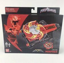 Power Rangers Super Ninja Steel Lion Fire Morpher Dart Launch Sounds Toy NEW