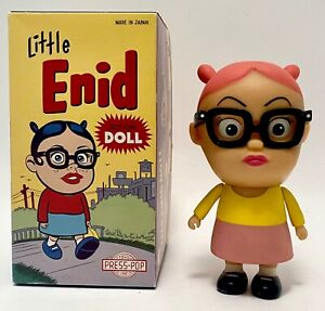 DANIEL CLOWES Little Enid Doll RARE Pink Hair Version Toy Figure Ghost World