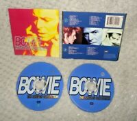 Bowie The Singles Collection (CD DISCS & SLEEVE ONLY, 2-Disc) David Bowie