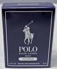 Polo Blue By Ralph Lauren 2.5 Oz Eau De Parfum Spray for Men Sealed New Box