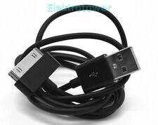 Ladekabel USB 2.0 Kabel Schwarz F. iPhone 3 3GS 4 4S iPod iPad Datenkabel Sync