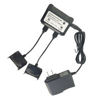 2-in-1 2S Lipo Battery Balance Charger Adapter for Holy Stone HS700 RC Drone
