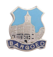 Bargoed Town Wales Crest Small Pin Badge
