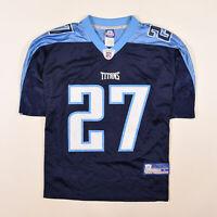 Reebok Herren Trikot Jersey Gr.L NFL Tennessee Titans #27 George OnField 86981