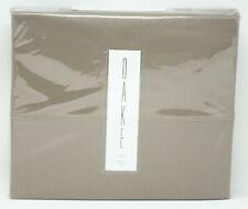 Oake 525 Thread Count 100% Cotton Sateen Solid Sheet Set - Twin - Truffle