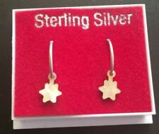 925 new star  earrings   new and boxed one pair