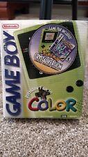 Nintendo Game Boy Color Kiwi Pokemon Crystal Version in Box