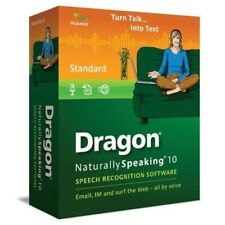 Nuance Dragon Naturally Speaking 10 Speech Recognition Software **