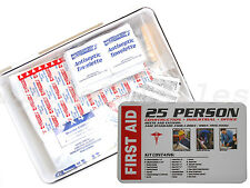 25 Person First Aid Kit 116pc Construction Industrial Office OSHA/ANSI Approved