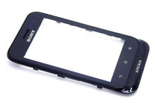 Sony Xperia Tipo St21i Touch Screen Display Digitizer with Frame Ear Cups Black