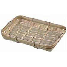 Bamboo Japanese Basket weaving: Mini Danbei style weaving bamboo tray, Display