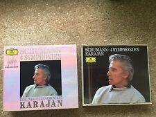 Herbert Von Karajan Berliner Philharmoniker 2 CD Set Schumann Wagner Dvorak EMI