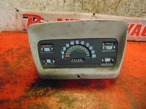 1960 International harvester B120 speedometer instrument gauge cluster
