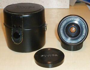 Fujica Fujinon-W Fujinon f=35mm 1:3.5 - M42 lens. Fuji Photo Film Co case & caps
