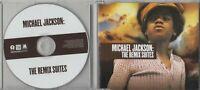 MICHAEL JACKSON The Remix Suites Sampler 2009 European 6-track promo only CD