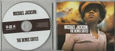 MICHAEL JACKSON The Remix Suites Sampler 2009 European 6-track promo only CD
