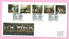 Royal Mail FDC 1991 - DOGS - Shs CRUFTS DOG SHOW CENTENARY, Birmingham