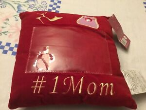 Photo Pillow for Mother's Day I heart Mom