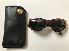 9919ee7f80 1980s GIANNI VERSACE vintage 389 Sunglasses tortoise