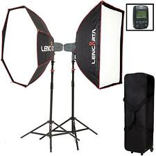 Visico 5 Strobe Softbox Lighting Kit Compatible with Sony