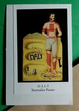 SALVADOR DALI FINE ART ~ SURREALIST POSTER ~ CASE SMALL REPRINT DOVER STICKER
