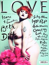 LOVE #1 Launch Iss BETH DITTO Iggy Pop KATE MOSS Antony Hegarty LARA STONE @NEW@