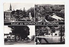 I637-MONTICELLI D'ONGINA-SALUTI DA....