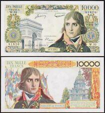 10000 FRANCS 1956 FRANCE [SUP / XF] Napoléon BONAPARTE - P136a (W.33)