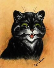 Wain Louis The Contented Cat Print 11 x 14   #5211