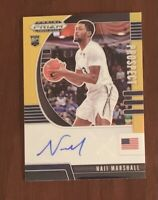 Naji Marshall RC Black Gold Auto /5 2020 Draft Prizm Pelicans Xavier Rookie Card