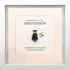 Lego Personalised Graduation Custom Picture Frame