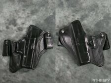 TT Gunleather Slim Mikes Special Leather Black IWB Holster for Glock 19 23 32