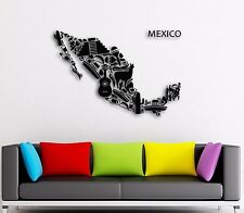 Wall Stickers Vinyl Decal Mexico Mexican Latin America  Cool Decor  (z1597)