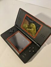 Nintendo DS Lite Console Crimson Red USG-001 w/ No Charger or Stylus