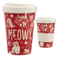 Bamboo Eco Friendly Christmas Simon's Cat Screw Top Travel Mug CHRISTMAS PRESENT