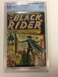 Black Rider #10 CBCS 5.5 Marvel Atlas Comic Western Golden Age 10c