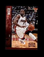 2012-13 Panini Threads Basketball #78 Dwyane Wade (Miami Heat) MINT
