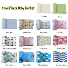 Fleece Easy Care Nursery Blankets & Throws