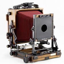 Shen Hao SH HZX 45-F Walnut Wood 4x5 Field Folding Large Format Film Camera