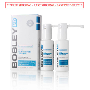 """""""FAST SHIPPING"""" BOSLEY Hair Regrowth Treatment Minoxidil Solution 5% for Men"""