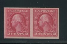 1914 US Stamp #459 2c Mint Never Hinged Grade Very Fine 80 Pair Certified