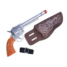Cowboy Gun & Holster Fancy Dress Costume Outfit Prop Weapon