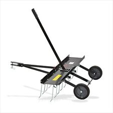 Entmooser Rasenstriegel RS 100 Vertikutierer Rasenlüfter Rasenkamm 100 cm
